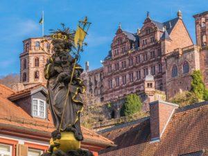 Das Heidelberger Schloss ist die Hauptattraktion